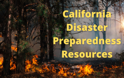 California Disaster Preparedness